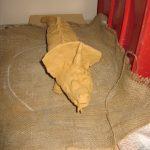 Ceramic lizard 1