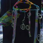 Coat Hanger sculptures. year 2