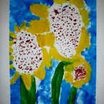 Painted sunflowers _2